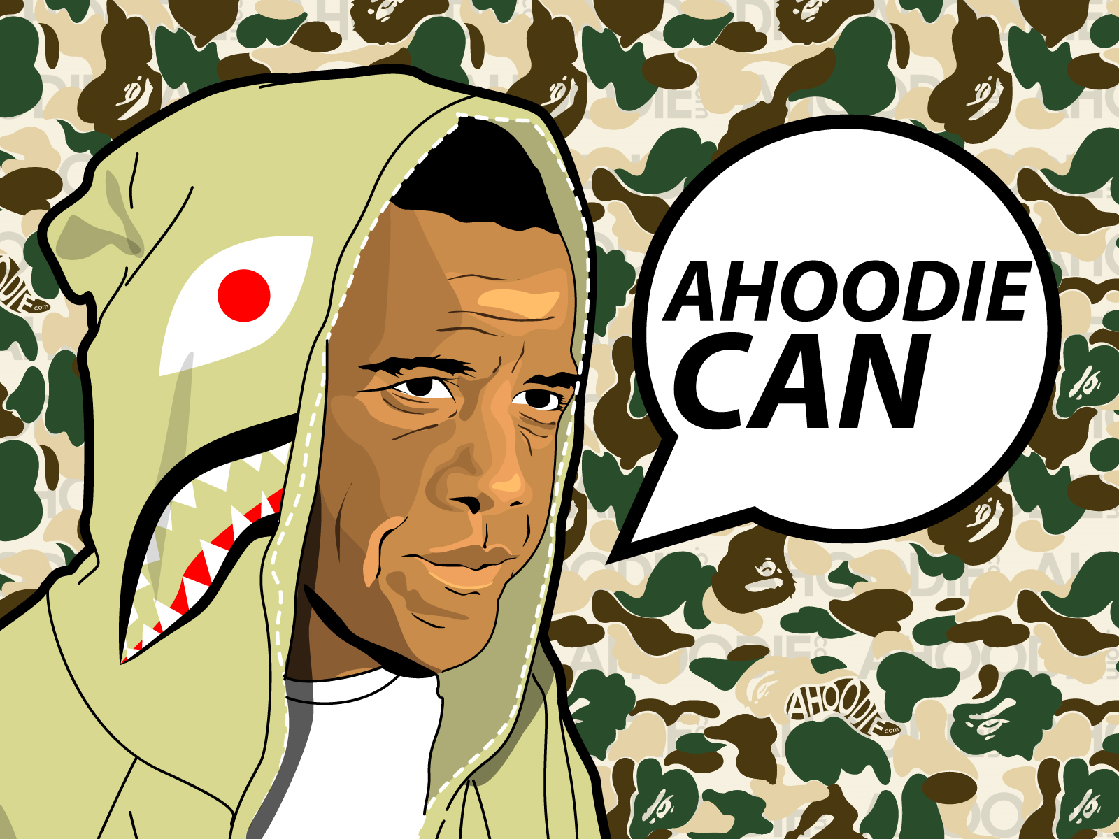 WALLPAPERS: Bape x Obama Desktop Background Wall Paper