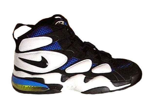 uptempo Fab 5 Top Ten Sneakers