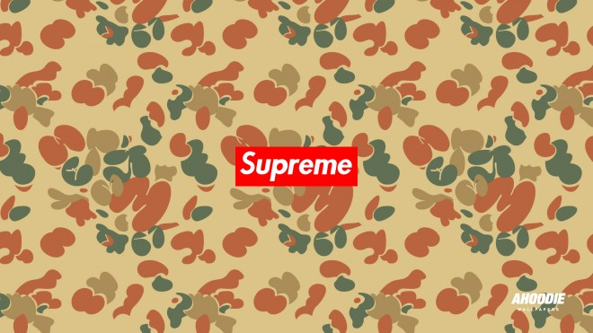 supreme camo 2012 wallpaper background 660x371 NEW SUPREME CAMO WALLPAPER