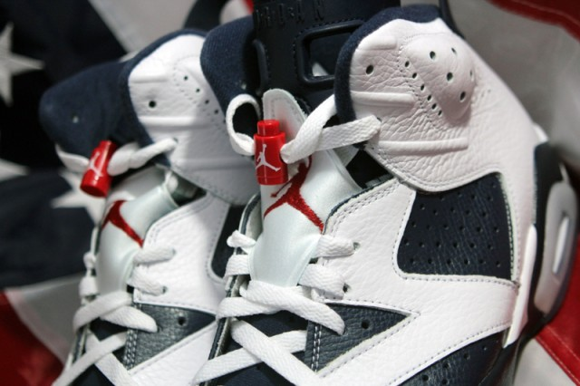 jordan VI 6 olympic 1 Air Jordan VI Retro Olympic PREVIEW