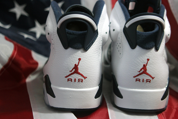 jordan VI 6 olympic 2 Air Jordan VI Retro Olympic PREVIEW