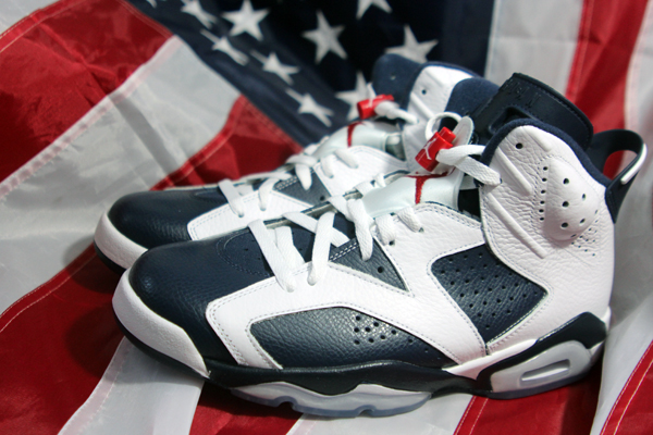 jordan VI 6 olympic 5 Air Jordan VI Retro Olympic PREVIEW