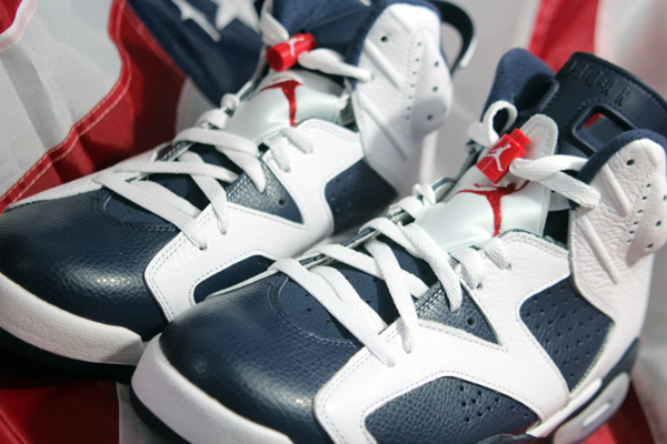 jordan VI 6 olympic 6 Air Jordan VI Retro Olympic PREVIEW