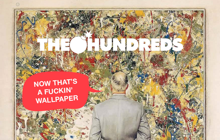 now thats a wallpaper WALLPAPERS: NEW THE HUNDREDS BACKGROUNDS