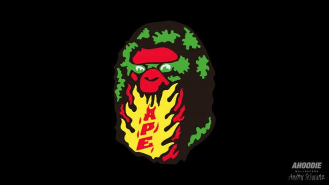 Bape 2 660x371 New 2013 Bape Desktop Wallpapers
