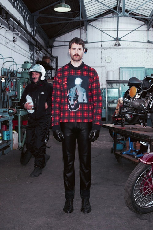 givenchy ahoodie 1 Who let the dogs out? Givenchys Pre Fall 2013 Lookbook
