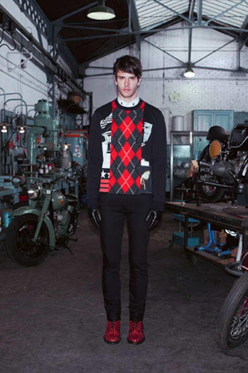 givenchy ahoodie 11 Who let the dogs out? Givenchys Pre Fall 2013 Lookbook