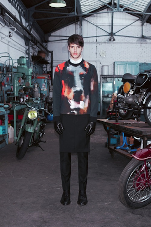 givenchy ahoodie 3 Who let the dogs out? Givenchys Pre Fall 2013 Lookbook