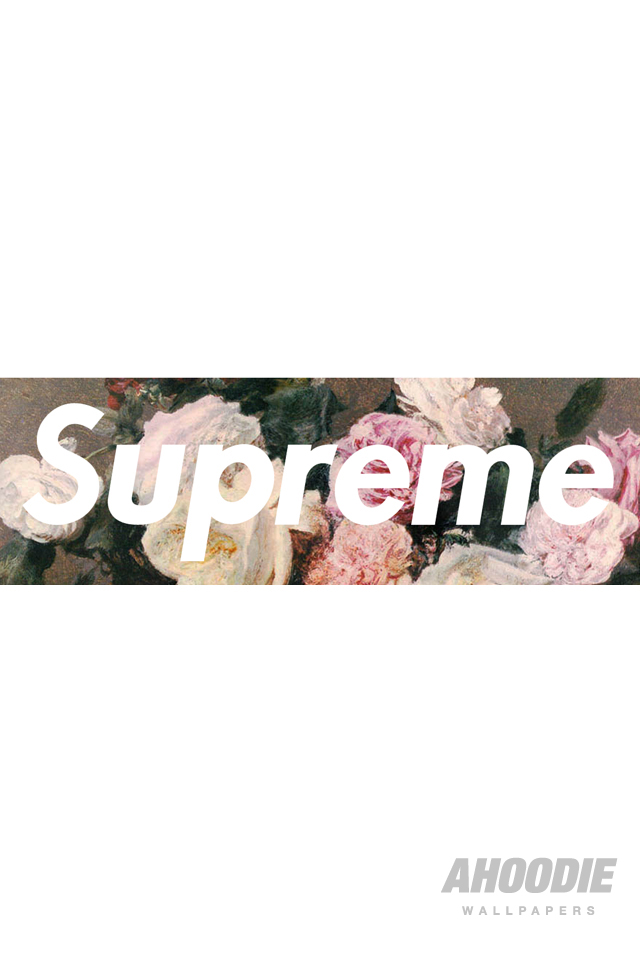 AHOODIE SUPREME IPHONE 4 FLORAL 21 POWER CORRUPTION & LIES: SUPREME FLORAL WALLPAPERS