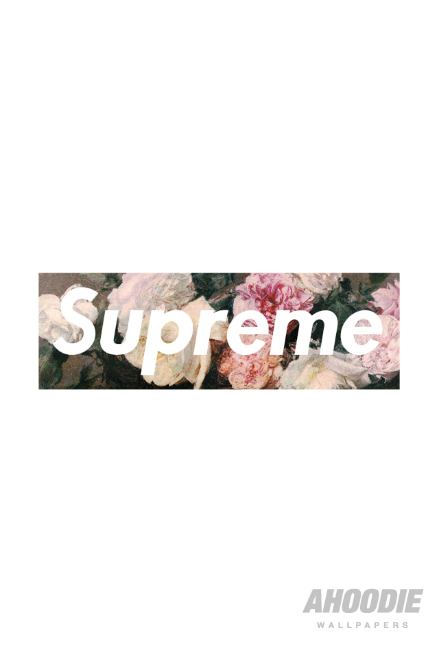 AHOODIE SUPREME IPHONE 4 FLORAL 31 POWER CORRUPTION & LIES: SUPREME FLORAL WALLPAPERS