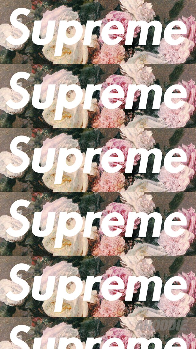 AHOODIE SUPREME IPHONE 5 FLORAL 21 POWER CORRUPTION & LIES: SUPREME FLORAL WALLPAPERS