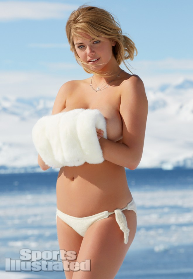 KATE UPTON FACEBOOK SWIMSUIT 7 660x951 FROZEN JUGS: The Sports Illustrated Swimsuit Edition Video + Kate Upton
