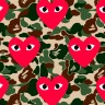 CDG X BAPE AHOODIE FEATURE IMAGE 96x96 RAISED BY WOLVES WALLPAPERS 