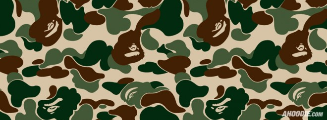 bape camo facebook cover