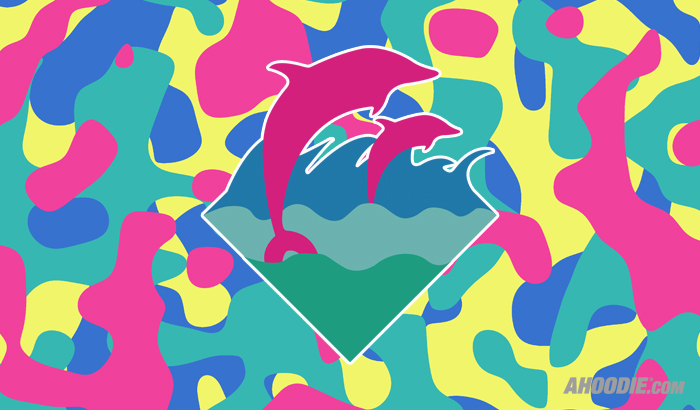 The gallery for --> Pink Dolphin Clothing Logo WallpaperPink Dolphin Wallpaper