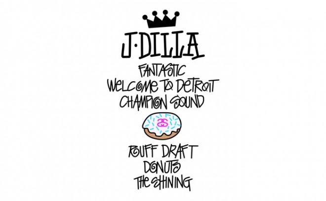 "J Dilla X Stussy ""World Tour Tee"" Wallpaper"