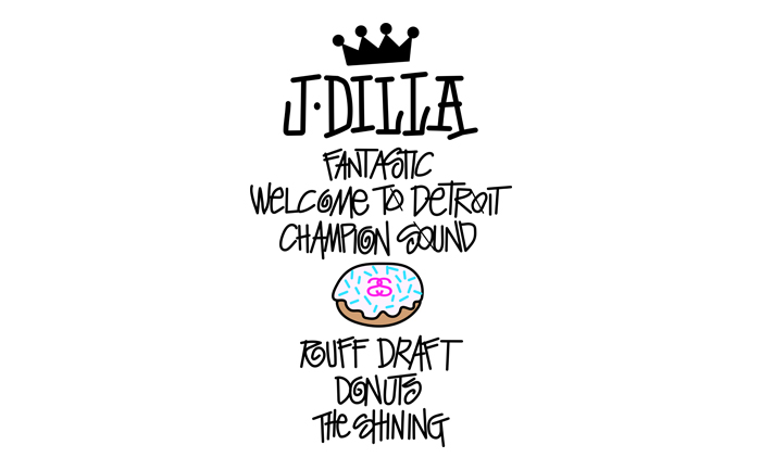 "J Dilla X Stussy ""World Tour Tee"" Wallpaper"
