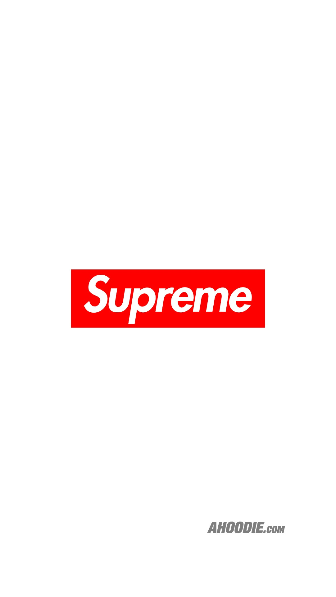 Ahoodie | Supreme Classic Box Logo Wallpaper