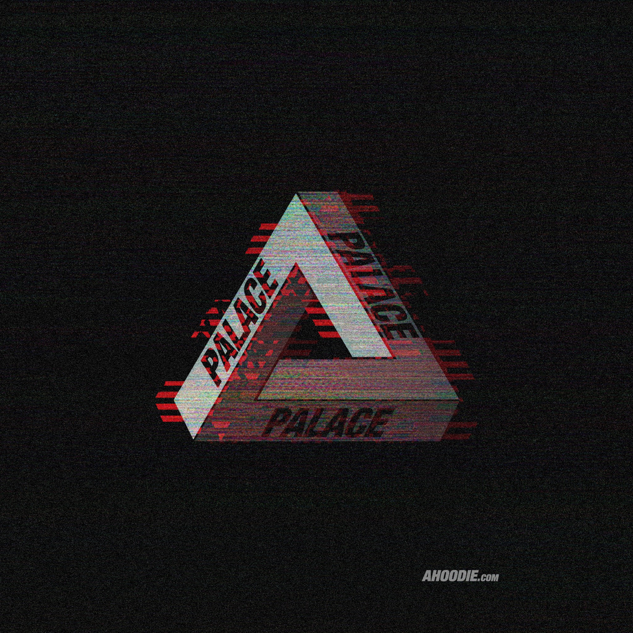 Wallpapers Palace Skateboards VHS Glitch